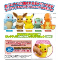 02-87252 Pokemon Sun & Moon Soft Vinyl Sofubi Figure 300y - Set of 5