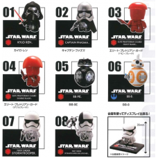CM-20153 Star Wars The Force Awakens Kore Chara (This Character!) Mini Figure Collection 02 300y - Set of 8