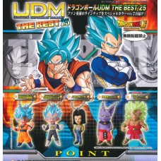 01-24567 Bandai DragonBall Super Ultimate Deformed Mascot (UDM) The Best 25 200y [PREORDER: JUNE 2018]
