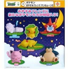 02-86262 Takara TOMY A.R.T.S Pocket Monster Pokemon Sun & Moon Oyasumi Friends 2 200y
