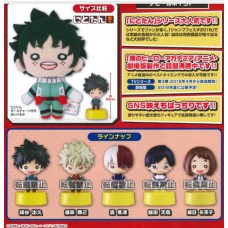 01-86482 Takara TOMY A.R.T.S My Hero Academia Nitotan Figure Mascot 300y - Set of 5