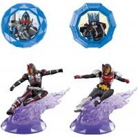 CM-89385 Kamen Rider Summon Ride! SR-08 Dark Ride Figure & Chipset Kamen Rider Faiz / Kamen Rider Kiva Bandai