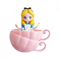 CM-33359 Bandai Disney Princess CapChara Heroine Doll 04 500y - Alice in Wonderland