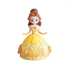 CM-33359 Bandai Disney Princess CapChara Heroine Doll 04 500y - Bell (Ball Gown)