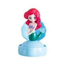 CM-33359 Bandai Disney Princess CapChara Heroine Doll 04 500y - Ariel Blue Seashell