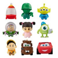 CM-39707 Disney Collection Character  Colle chara Kore Chara! Pixar Friends 2 300y - Set of 9