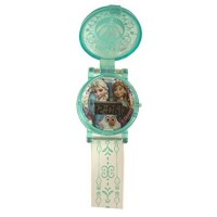 CM-82526 Disney's Frozen Flip Cover Watch 200y - Elsa, Anna, Olaf