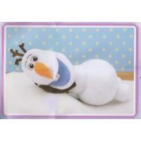 CM-0900 Sega Prize Frozen Olaf Jumbo Plush Lying Down Version 35 cm