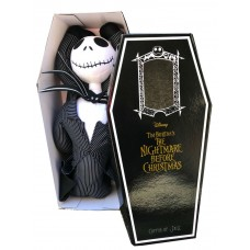 M34160 The Nightmare Before Christmas Jack Skellington Jumbo plush with Coffin Box