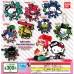 SR-29413 Splatoon 2 X Sanrio Characters Capsule Rubber Mascot 300y - Keroppi