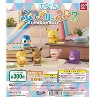 02-41969 Pokemon Figure x Clip Vol. 3 300y - Set of 6