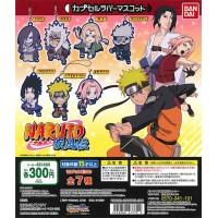 01-47779 Naruto Shippuden Capsule Rubber Mascot 300y - Set of 7