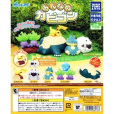 02-88178 Pocket Monster Pokemon Everyone's Snorlax ini Figure Collection Minna no Kabigon 300y