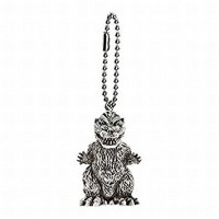 M1-11284 Toho Monsters Godzilla Mini SD Figure (Monochrome) Keychain Mascot - Godzilla 1954