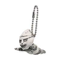 M1-11284 Toho Monsters Godzilla Mini SD Figure (Monochrome) Keychain Mascot - Jet Jaguar