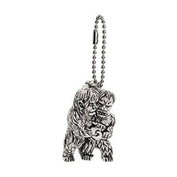 M1-11284 Toho Monsters Godzilla Mini SD Figure (Monochrome) Keychain Mascot - Sanda Gaira Gargantuas