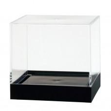 "873C Showcase Box, Crystal 4"" x 4"" x 3-11/16"""