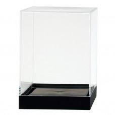 "875C Showcase Box, Crystal 4"" x 4"" x 5-1/2"""
