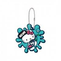 SR-29413 Splatoon 2 X Sanrio Characters Capsule Rubber Mascot 300y - Hello Kitty