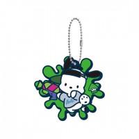 SR-29413 Splatoon 2 X Sanrio Characters Capsule Rubber Mascot 300y - Pochacco