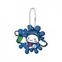 SR-29413 Splatoon 2 X Sanrio Characters Capsule Rubber Mascot 300y - Cinnamoroll