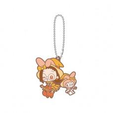 SR-51545 Ojomajo Magical DoReMi X Sanrio Character Special Capsule Rubber Mascot 300y - My Melody & Hazuki Fujiwara
