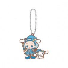 SR-51545 Ojomajo Magical DoReMi X Sanrio Character Special Capsule Rubber Mascot 300y - Cinnamoroll & Aiko Senoo