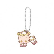 SR-51545 Ojomajo Magical DoReMi X Sanrio Character Special Capsule Rubber Mascot 300y - Corocorokuririn & Baby Hana