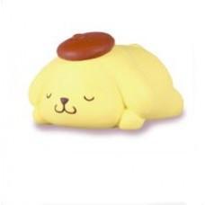 SR-86160 Takara TOMY A.R.T.S Sanrio Characters Oyasumi (Good Night) Mascot 200y - Pom Pom Purin
