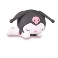 SR-86160 Takara TOMY A.R.T.S Sanrio Characters Oyasumi (Good Night) Mascot 200y - Kuromi