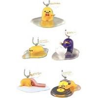 SR-86550 Gudetama 5th Anniversary Mascot Collection Vol. 6 200y - Set of 5