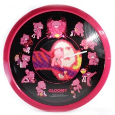 """01-00154 CGP-154 Chax GP Gloomy The Naughty Grizzly 12.5"""" Wall Clock Gloomy Bear Style Numbers Clock Face Style"""