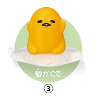 SR-86387 Takara TOMY A.R.T.S Gudetama Ugokitakunai Gudetama Does Not Want to Move Mini Figure Collection 200y - [3. Listen to Me]