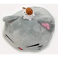 AMU-PRZ7455b NemuNeko Nikori / hamster Big Plush - Grey