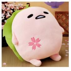 AMU-PRZ9822 Gudetama Mochi Style Cherry Blossom Sakura Version Big Plush