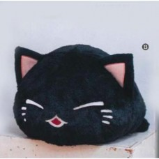 AMU-PRZ7343b Nemu Neko Nikori Big Plush - Black